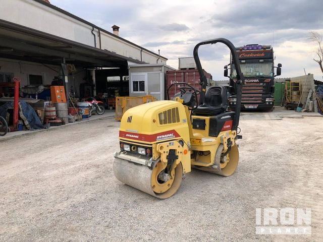 2007 Dynapac CC900S Vibratory Double Drum Roller, Roller