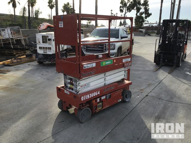 2007 Snorkel S1930 Electric Scissor Lift, Scissorlift