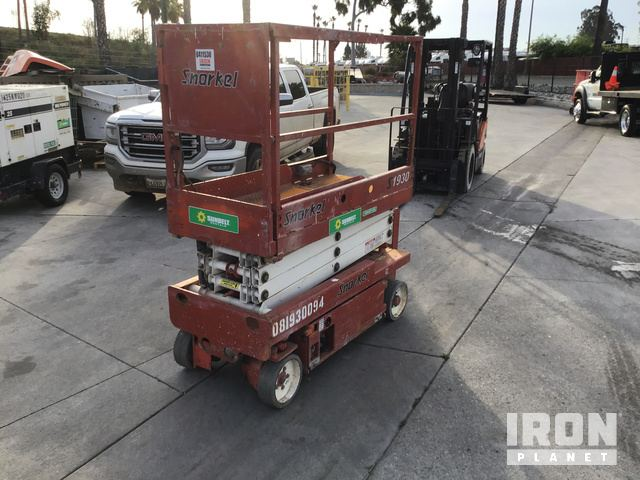 Snorkel S1930 Electric Scissor Lift, Parts/Stationary Construction-Other