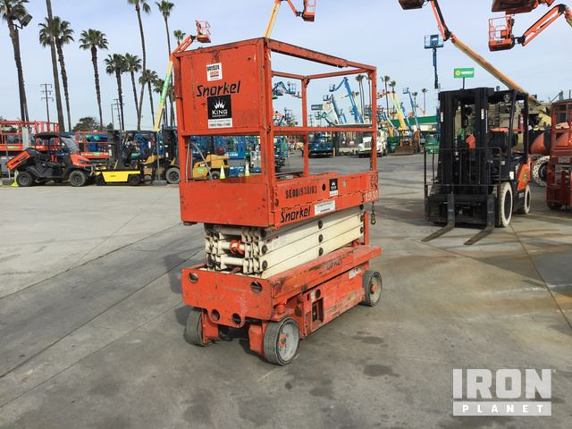 2007 Snorkel S1930 Electric Scissor Lift, Parts/Stationary Construction-Other