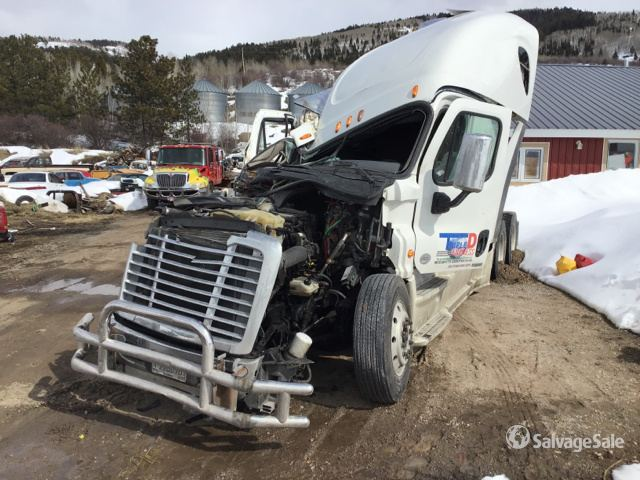 2015 Freightliner Cascadia T/A Sleeper Truck Tractor, Parts/Stationary Construction-Other