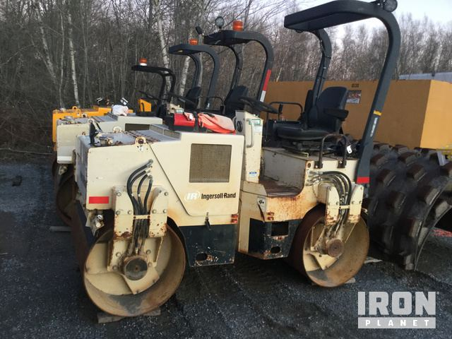 Ingersoll-Rand DD-24 Vibratory Double Drum Roller, Tandem Roller