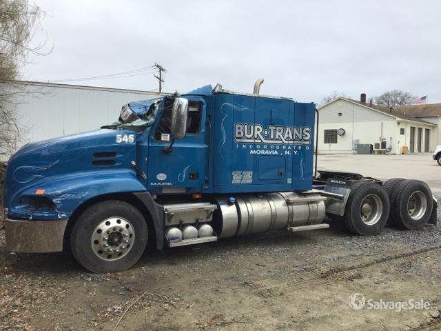 2018 Mack CXU613 T/A Sleeper Truck Tractor, Parts/Stationary Construction-Other