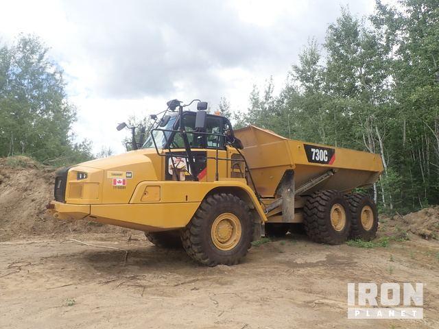 2014 Cat 730C Articulated Dump Truck, Articulated Dump Truck