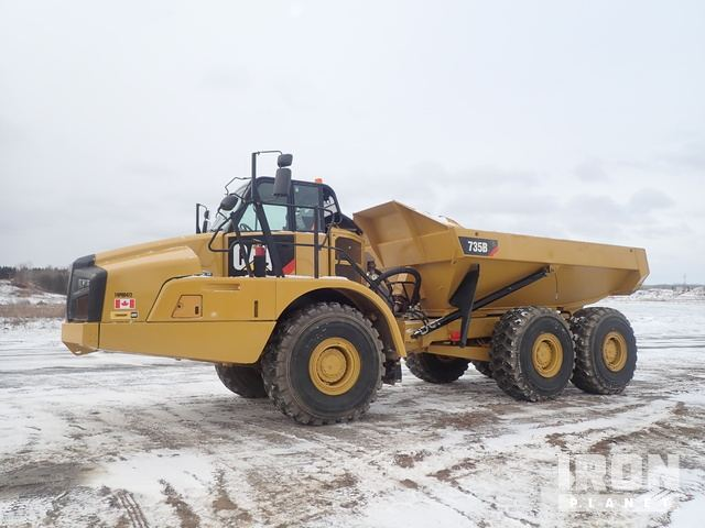2014 Cat 735B Articulated Dump Truck, Articulated Dump Truck