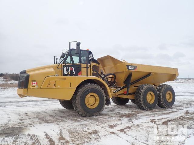 2014 Cat 735B Articulated Dump Truck, Articulated Dump Truck