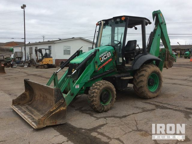2014 JCB 3CX14L4CM 4x4 Backhoe Loader, Loader Backhoe