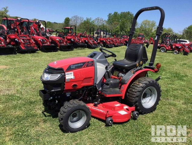 2017 Mahindra Max 24H HST 4WD Tractor, MFWD Tractor