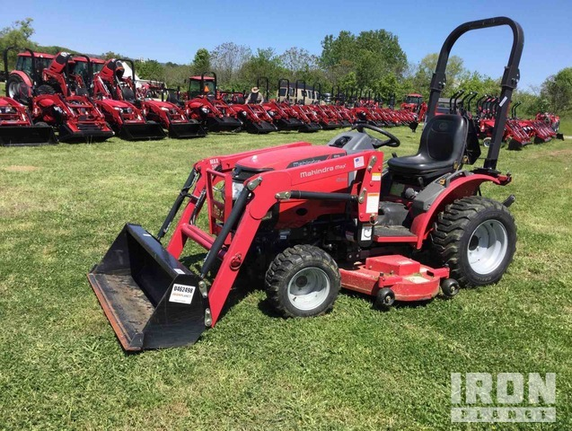 2014 Mahindra Max 24H HST 4WD Tractor, MFWD Tractor