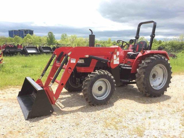 Mahindra 5545 4WD Tractor, MFWD Tractor