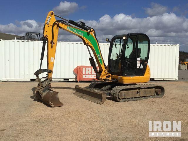 2014 JCB 8055RTS Mini Excavator, Mini Excavator (1 - 4.9 Tons)