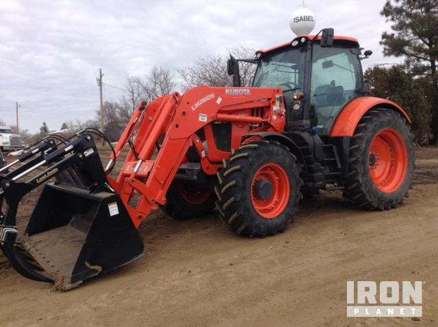 Kubota M7-151S 4WD Tractor, MFWD Tractor