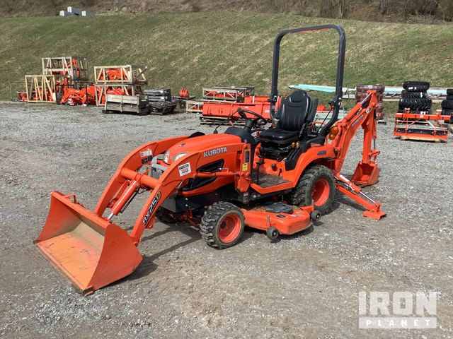 2016 Kubota BX25DLB 4WD Tractor, MFWD Tractor