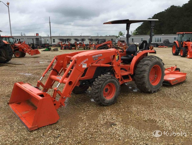 2018 (unverified) Kubota MX5200D 4WD Tractor, MFWD Tractor