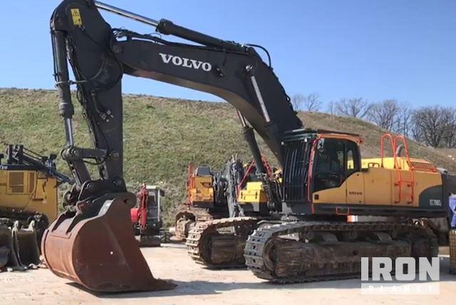 2012 Volvo EC700CL Track Excavator, Hydraulic Excavator