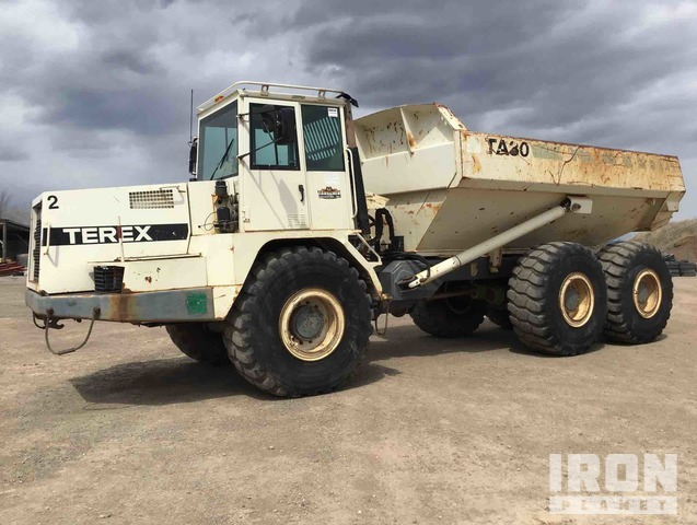 Terex TA30 Articulated Dump Truck, Articulated Dump Truck