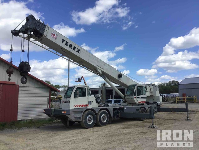 2004 Terex T775 75 Ton 8x6x4 Hydraulic Truck Crane, Hydraulic Truck Crane