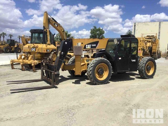 2013 Cat TL943C 4x4 9000 lb Telehandler, Telescopic Forklift