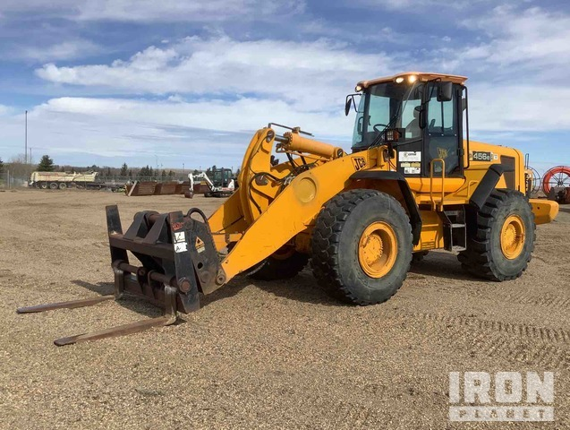 2007 (unverified) JCB 456E ZX Wheel Loader, Wheel Loader