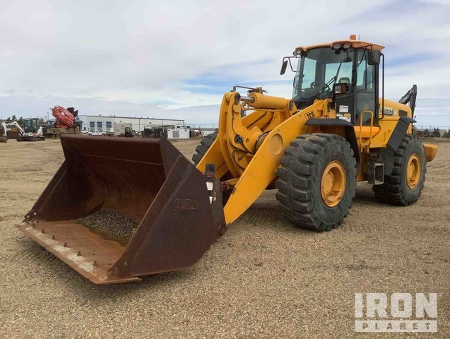 2007 (unverified) JCB 456E Wheel Loader, Wheel Loader