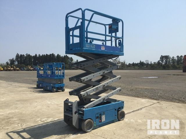 2007 年 Genie GS1932 Electric Scissor Lift, Scissorlift