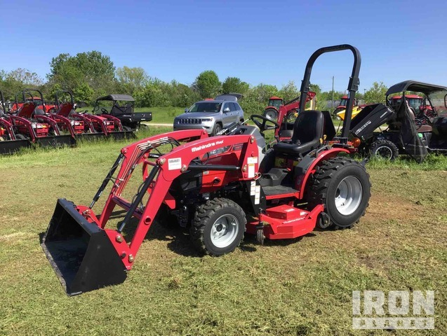 2015 Mahindra 26H HST 4WD Tractor, MFWD Tractor