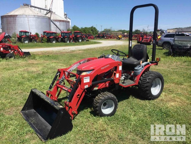 Mahindra EMAX25NH HST 4WD Tractor, MFWD Tractor