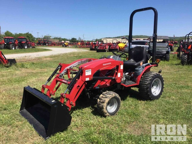 2017 Mahindra eMax 25NH HST 4WD Tractor, MFWD Tractor