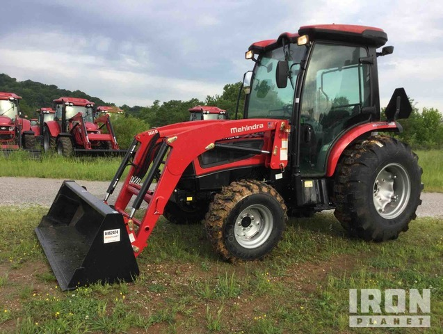 Mahindra 3540P HST 4WD Tractor, MFWD Tractor