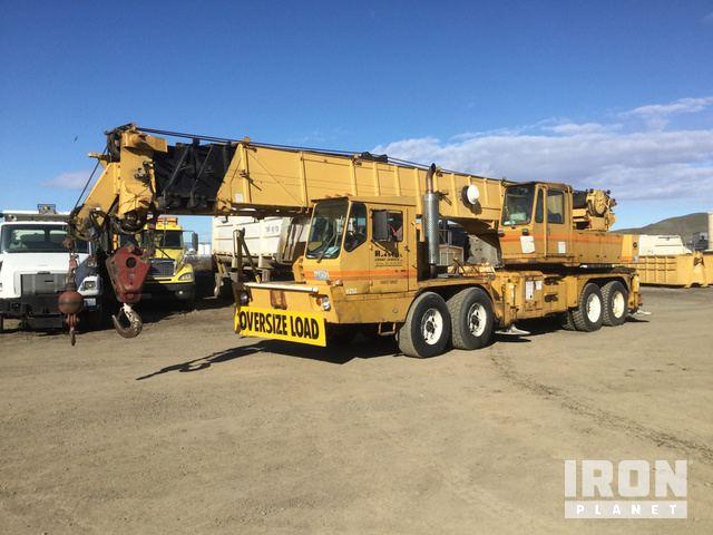 1974 Grove TMS-475 Hydraulic Truck Crane, Hydraulic Truck Crane