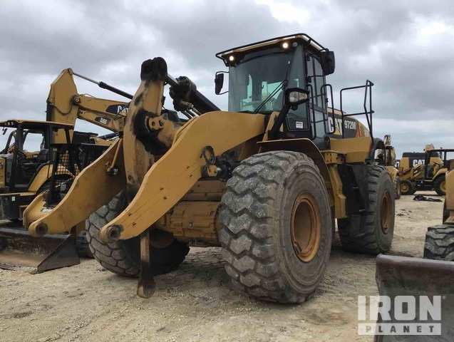 2015 Cat 972M Wheel Loader, Wheel Loader