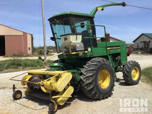 John Deere 5830 Self Propelled Forage Harvester, Forage Harvester