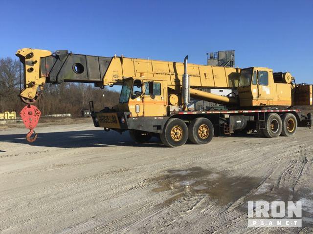 1981 Grove TMS865 Hydraulic Truck Crane, Hydraulic Truck Crane
