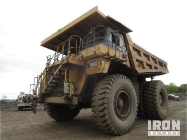 Cat 785C Off-Road End Dump Truck, Rock Truck