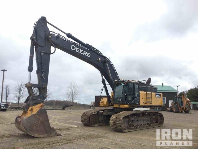 2013 John Deere 470G LC Track Excavator, Hydraulic Excavator