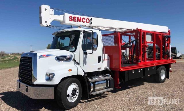 2020 Freightliner 108SD w/ Semco S15000 Pump Hoist - Unused, Well Service Unit