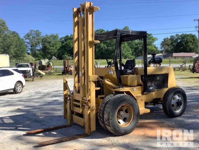 Roanoke Hustler 12000-B-14 Rough Terrain Forklift, Rough Terrain Forklift