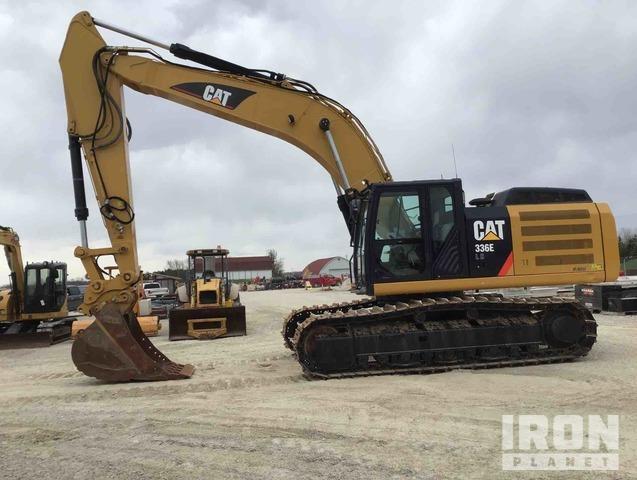 2013 Cat 336E L H Track Excavator, Hydraulic Excavator