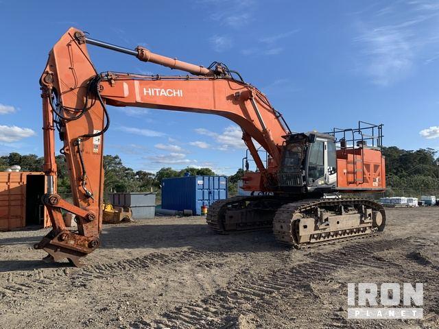 2008 Hitachi ZX670LCH-3 Track Excavator, Hydraulic Excavator