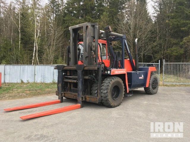 1988 Kalmar DC28-1200 Pneumatic Tire Forklift, Forklift