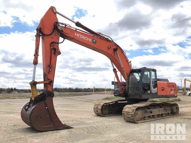 Hitachi Zaxis 350 LC Track Excavator, Hydraulic Excavator