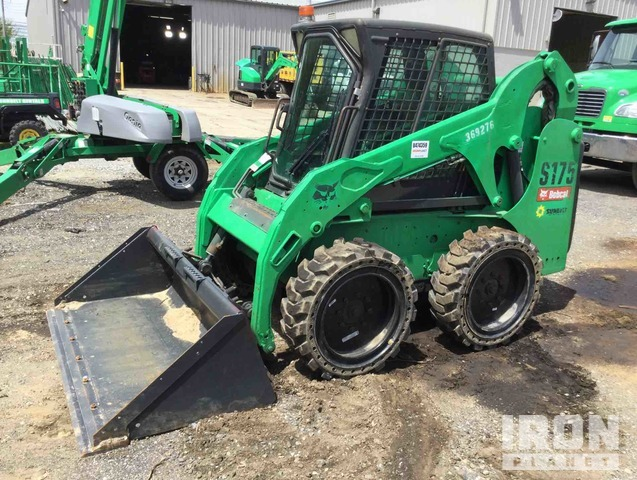 2011 Bobcat S175 Skid Steer Loader, Skid Steer Loader
