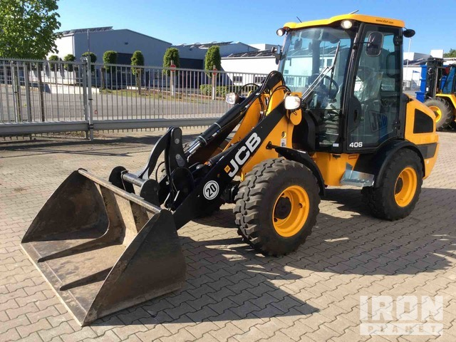2019 JCB 406T4 Wheel Loader, Wheel Loader