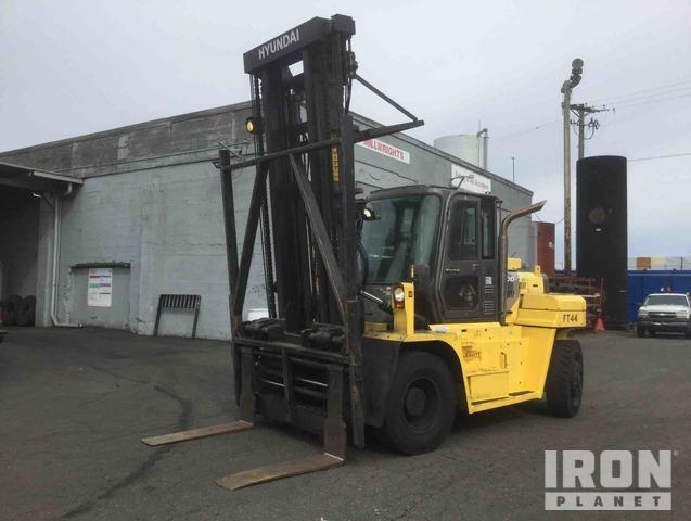 2014 (unverified) Hyundai 110D-7A Pneumatic Tire Forklift, Forklift