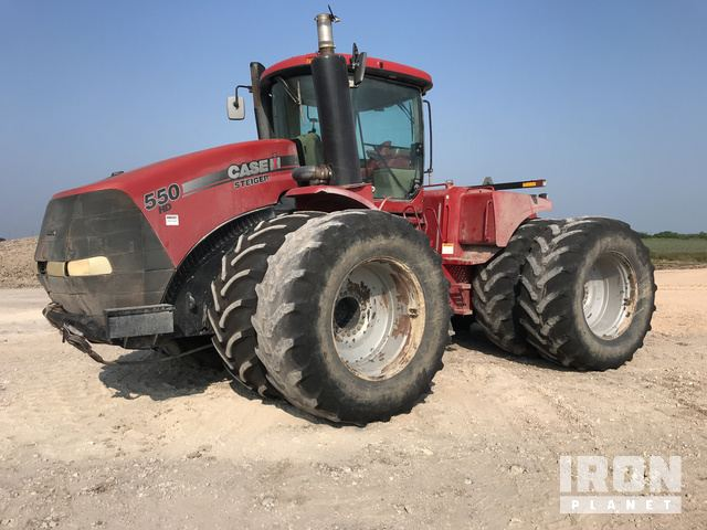 2011 Case IH Steiger 550S Articulated Tractor, 4WD Tractor