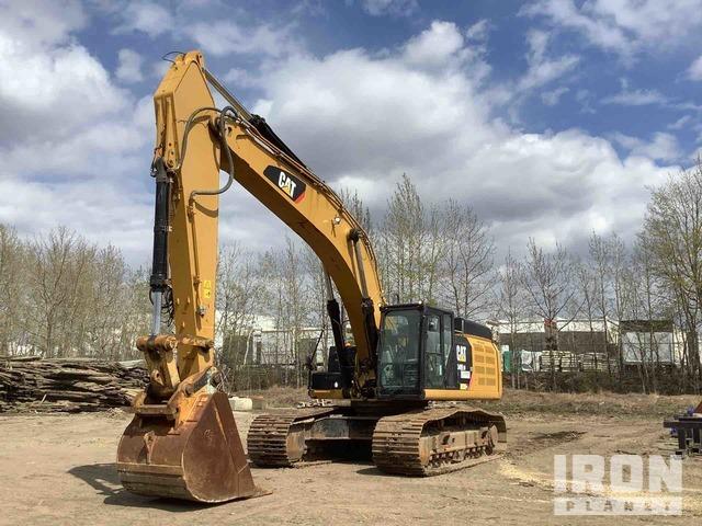 2012 Cat 349EL Track Excavator, Hydraulic Excavator