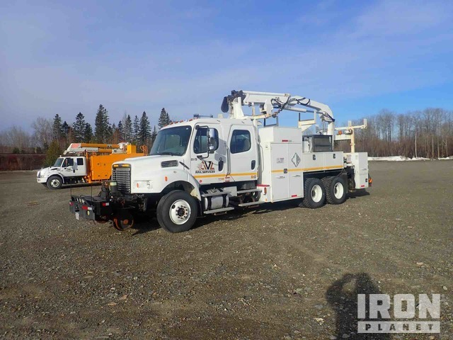 2006 Freightliner M2106 T/A Crew Cab Railway Service Truck, Railroad Equipment - Other