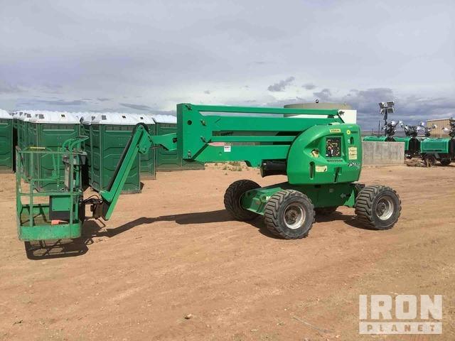 2012 JLG 450AJ 4WD Diesel Articulating Boom Lift, Boom Lift