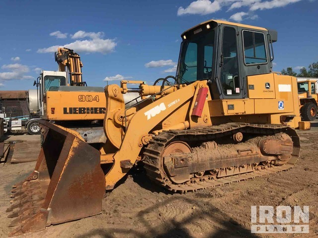 John Deere 755C Series II Crawler Loader, Crawler Loader