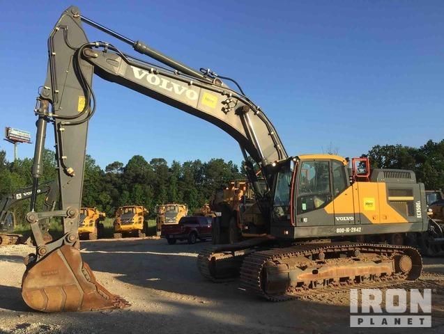 2017 Volvo EC350EL Track Excavator, Hydraulic Excavator